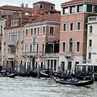 Busy Grand Canal by Marylou Badeaux