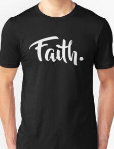 Faith. Tshirt (White) Unisex T-Shirt