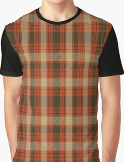 01217 Wild Pumpkins Fashion Tartan  Graphic T-Shirt
