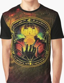 Edward Transmutation Circle Graphic T-Shirt
