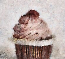 Strawberry Cupcake by Anita Murphy