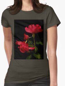 Red is for Passion Womens Fitted T-Shirt
