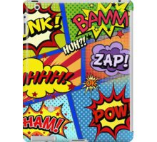 Colorful Comic Book Panels iPad Case/Skin
