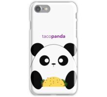 tacopanda iPhone Case/Skin