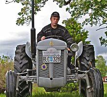 Tractor massey ferguson 1955. For you Leif Emil Bäckman. by © Andrzej Goszcz,M.D. Ph.D