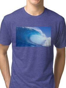 Wave barrel Tri-blend T-Shirt