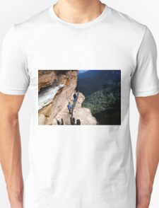 Blue Mountains Valley View Unisex T-Shirt