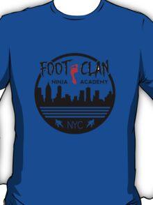 Foot Clan Ninja Academy T-Shirt NYC New York Teenage Mutant Ninja Turtles TMNT  T-Shirt