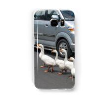 Pedestrians Crossing Samsung Galaxy Case/Skin