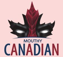 MOUTHY CANADIAN Baby Tee