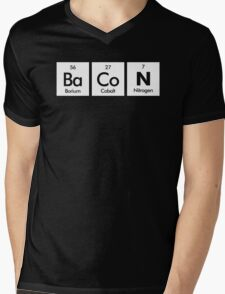 The Elements Of Bacon Mens V-Neck T-Shirt