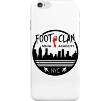 Foot Clan Ninja Academy T-Shirt NYC New York Teenage Mutant Ninja Turtles TMNT  iPhone Case/Skin