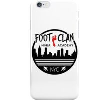 Foot Clan Ninja Academy T-Shirt NYC New York Teenage Mutant Ninja Turtles TMNT  iPhone Case/Skin