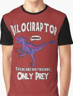 Bilociraptor - Text + Speech Graphic T-Shirt