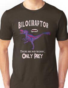 Bilociraptor - Text + Speech Unisex T-Shirt