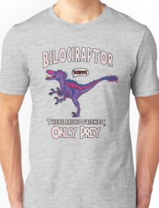 Bilociraptor - Text + Speech Unisex T-Shirt