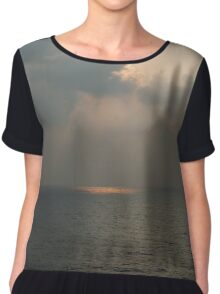 Light Upon the Water Chiffon Top