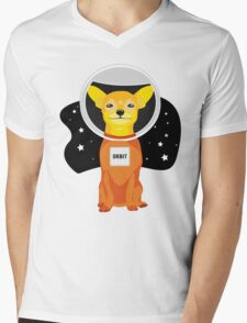 Orbit The Astronaut Mens V-Neck T-Shirt