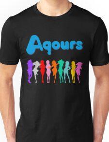 Aqours Ver. 2 Unisex T-Shirt