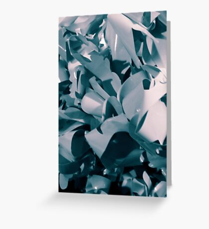 abstract paper Greeting Card
