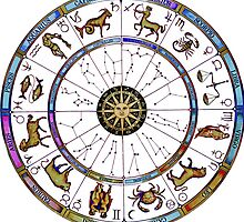 The Zodiac Chart - custom colours by request by Shevaun  Shh!