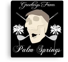 Palm Springs Elderly Golfing Community Adventure Fun Time Canvas Print