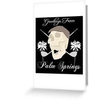 Palm Springs Elderly Golfing Community Adventure Fun Time Greeting Card