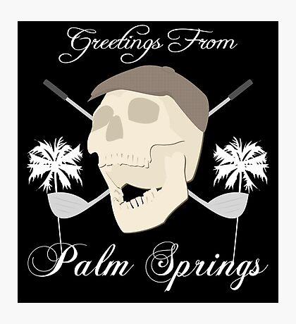 Palm Springs Elderly Golfing Community Adventure Fun Time Photographic Print
