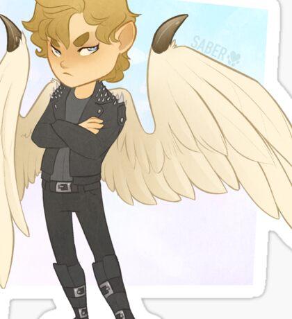 Angel Chibi Sticker