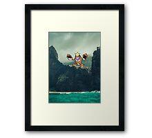 Crawdaunt Framed Print