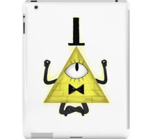 Bill Cipher Yoga - Gravity Falls iPad Case/Skin