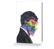 Sherlock True Colors Greeting Card