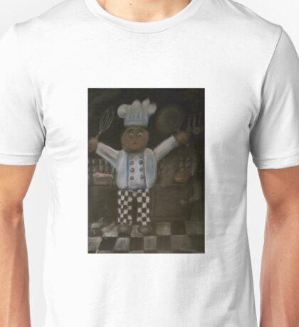 'No More' said chef Unisex T-Shirt