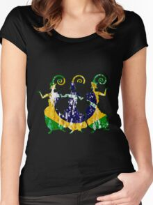 Beauty of Brazil Women's Fitted Scoop T-Shirt