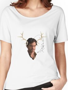 Low Poly Will Graham Women's Relaxed Fit T-Shirt