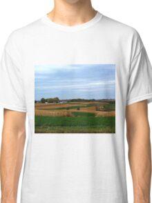 Autumn Wisconsin Farmland Classic T-Shirt