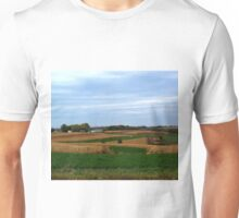 Autumn Wisconsin Farmland Unisex T-Shirt