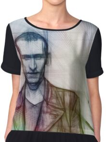The Ninth Doctor, Doctor Who Chris Eccleston  Chiffon Top
