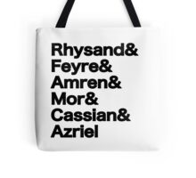 The Night Court Squad Tote Bag