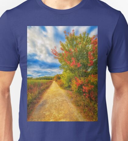 Step back into fall Unisex T-Shirt