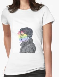 Irene Adler True Colors Womens Fitted T-Shirt