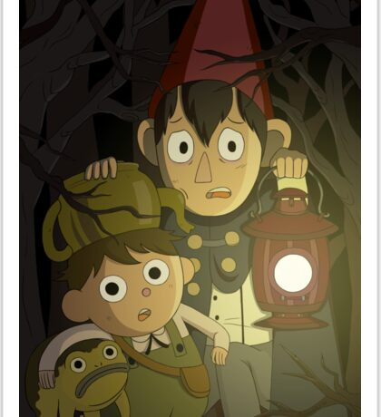 Over the Garden Wall Sticker
