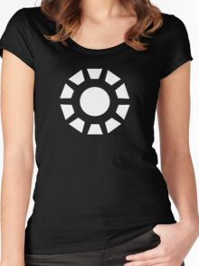 Monochromatic Heroes #2 Women's Fitted Scoop T-Shirt