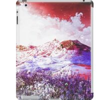 Starry Mountain Scene iPad Case/Skin
