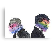 True Colors Sherlock and John Canvas Print