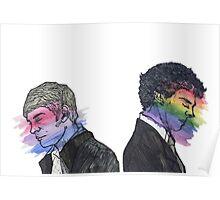 True Colors Sherlock and John Poster