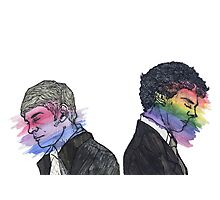 True Colors Sherlock and John Photographic Print