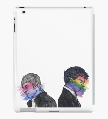 True Colors Sherlock and John iPad Case/Skin