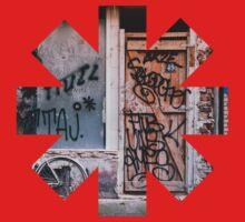 Red Hot Chili Peppers Graffiti Kids Tee