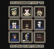 Press Start... For Justice! T-Shirt